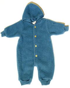 Baby Overall 100% Schurwolle - Engel natur