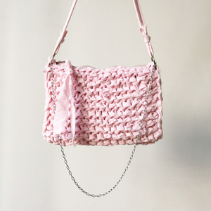 Strick-Clutch - handgestrickt - - Verstrickt-in-Berlin