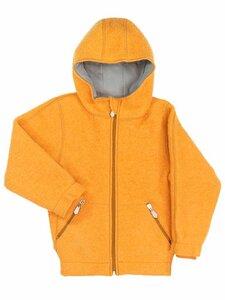 Kinder Walk-Jacke mit Kapuze Bio-Wolle - Halfen