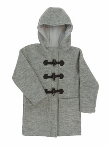 Kinder Walk Dufflecoat/Mantel reine Bio-Wolle - Halfen