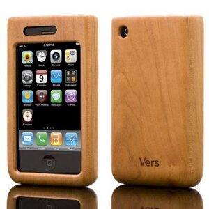 iPhone Hülle aus Holz (Bambus, Walnuss,Kirsch) - Vers