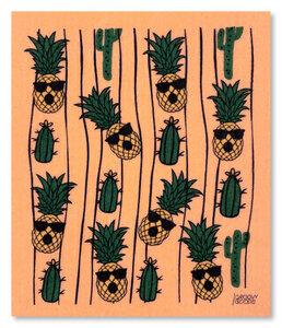 "Ökologisches Schwammtuch ""Pineapple"" - Groovy Goods"