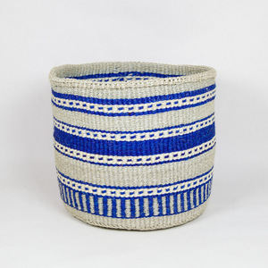Sisalkorb Serah XL handgeflochten in Kenia - Hadithi