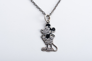 Vintage Unikat: Gliederkette Micky Maus - MishMish by WearPositive