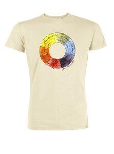 Kunst T-Shirt | Farbenlehre - Unipolar