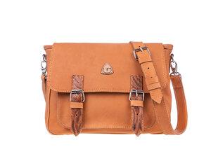 Damen Messenger-bag NOA Leder - 100% Made in Italy - Ritagli di G