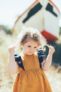 Kleid Seaside Daisy - Leinen - Peter Jo Kids