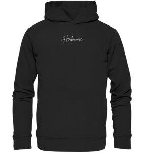 Organic Unisex Hoodie Herbivore - BVeganly