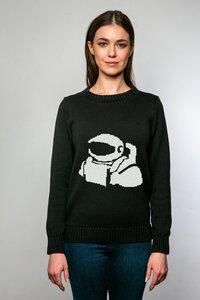 Damen Strickpullover aus Bio-Baumwolle | Astronaut - Pillars of Creation