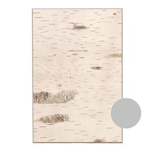 Wanddekoration aus Birkenrinde - KLEIN - Deko Wandpaneel Birke - geschält - MOYA Birch Bark