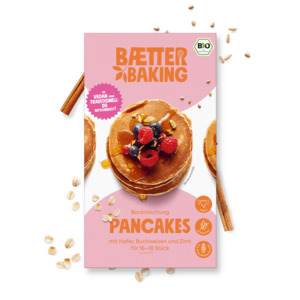 Backmischung Pancakes - Baetter Baking
