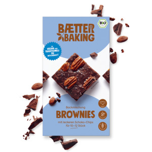 Backmischung Brownies - Baetter Baking