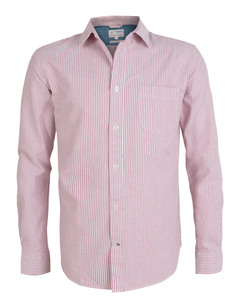 Button Down Oxford Shirt - KnowledgeCotton Apparel