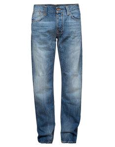 Straight Alf Organic Blue Leg. - Nudie