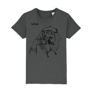 Bedrucktes Kinder T-Shirt aus Bio-Baumwolle FOTOGRAF - karlskopf