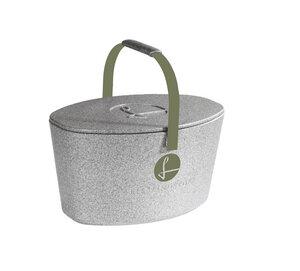 Lieblingskorb Plus silver grey - Lieblingskorb