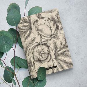 "Nachhaltiges Notizbuch A5 aus Graspapier - Tara ""Botanical"" - Matabooks"