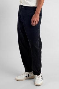 Stoffhose aus Bio Baumwolle - Lerum Pants - Schwarz - DEDICATED
