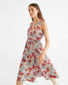 Kleid - Small Flowers Amapola  - thinking mu