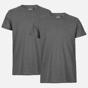 NEUTRAL® Doppelpack Herren Bio Tshirt - Bio Baumwolle - Neutral
