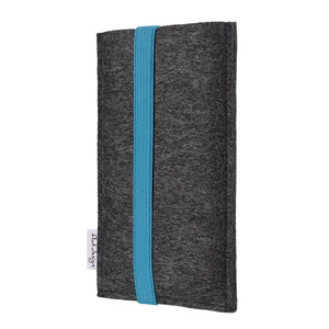 Handyhülle COIMBRA für Samsung Galaxy Note-Serie - 100% Wollfilz - dunkelgrau - flat.design