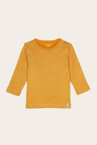 Bio Baby Basic Langarmshirt uni oder geringelt mit Rundhals - Jule - Lana naturalwear