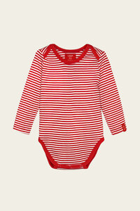 Bio Baby Body langarm ohne Elasthan - Paula - Lana naturalwear