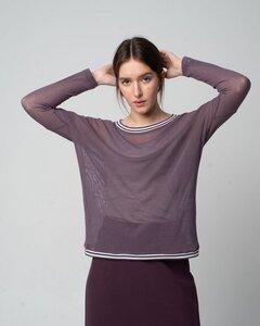 Tüllshirt im Oversized-Look aus Bio-Baumwolle 'Tüll-Loose-Shirt' - Alma & Lovis