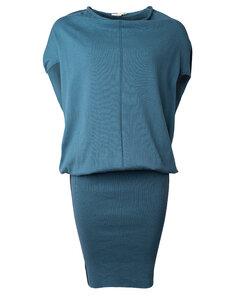 Strickkleid mit weitem Rollkragen und engem Rock - Knit Dress - Alma & Lovis