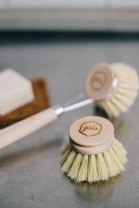 Wechselkopf für die Spülbürste aus Holz - gaia