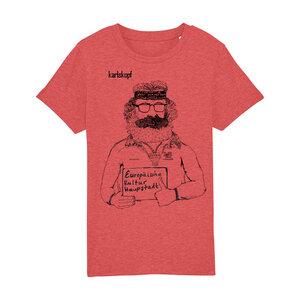 Bedrucktes Kinder T-Shirt aus Bio-Baumwolle KULTURBANAUSE - karlskopf