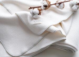 Kuschel-Decke aus Biobaumwolle - Antichi