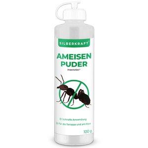 Silberkraft Ameisenpuder gegen Ameisen und Insekten - Silberkraft
