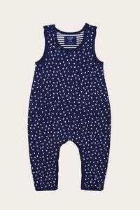 Bio Baby Hose mit Trägern und Wendefunktion - Momo - Lana naturalwear