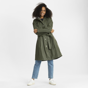 Regenjacke - JASMINE long rain jacket - KnowledgeCotton Apparel