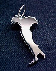ITALIEN Kettenanhänger in 925 Silber - S.W.w. Schmuckwaren