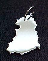 DDR Kettenanhänger in 925 Silber - S.W.w. Schmuckwaren