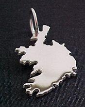 IRLAND Kettenanhänger in 925 Silber - S.W.w. Schmuckwaren