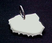 POLEN Kettenanhänger in 925 Silber - S.W.w. Schmuckwaren
