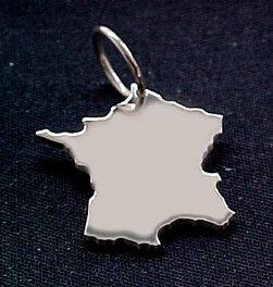 FRANKREICH Kettenanhänger in 925 Silber - S.W.w. Schmuckwaren