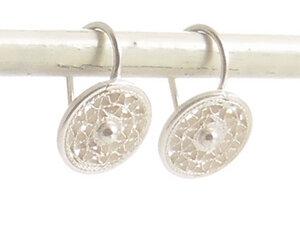Ohrringe Geflecht Silber - Filigrana Schmuck