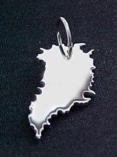 GRÖNLAND Kettenanhänger in 925 Silber - S.W.w. Schmuckwaren