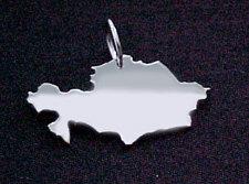 KASACHSTAN Kettenanhänger in 925 Silber - S.W.w. Schmuckwaren