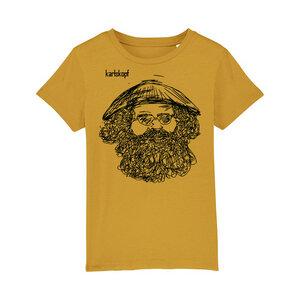 Bedrucktes Kinder T-Shirt aus Bio-Baumwolle VIETNAMESE - karlskopf