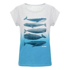 Whales T-Shirt Damen mit Effekt-Waschung - Lexi&Bö