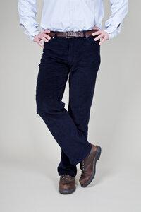 Blaue Cordhose für Herren - Cordhosenkampagne