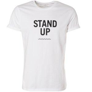 "Unisex T-Shirt - ""STAND UP"", 100% Biobaumwolle - Waterkoog"