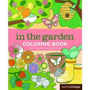 Malbuch im Garten - Petit Collage