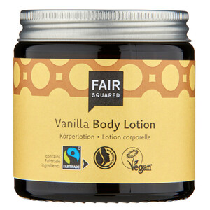 Fair Squared Bodylotion Vanille 100ml - Hautpflege Körperlotion - Fair Squared