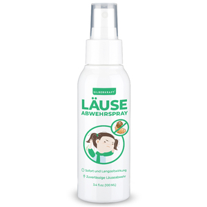 Kopfläusespray 100 ml - Alternative zu Kopfläuse Kamm & Shampoo - Silberkraft